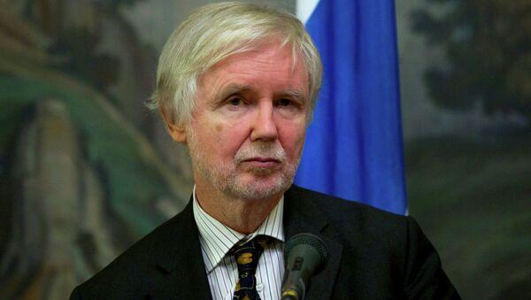 Finnish Foreign Minister Erkki Tuomioja - Sputnik Mundo