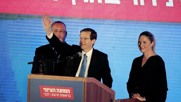 Zionist Union chief Isaac Herzog - Sputnik Mundo