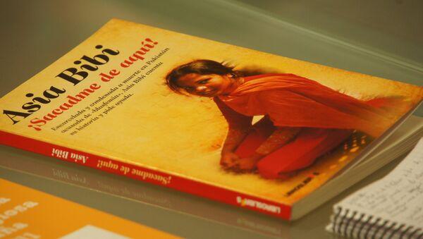 ¡Asia Bibi, ¡sacadme de aquí! está publicado por Libros Libres en colaboración con MasLIbres.org y Ayuda a la Iglesia Necesitada - Sputnik Mundo