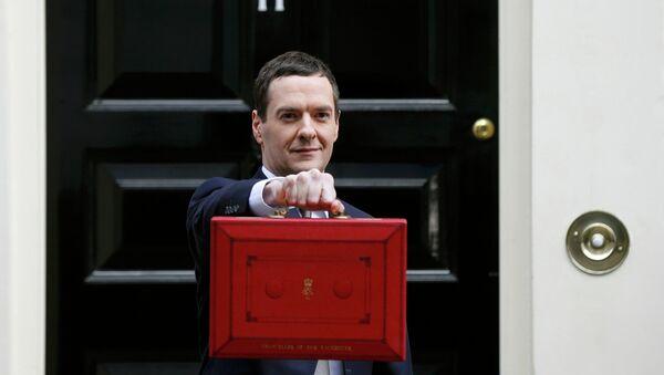 George Osborne, ministro del Tesoro de Reino Unido - Sputnik Mundo