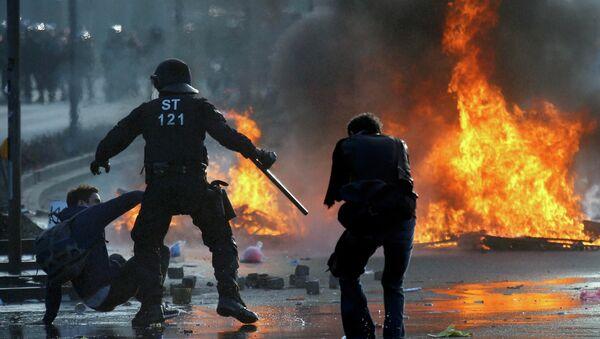Anti-capitalist protests - Sputnik Mundo