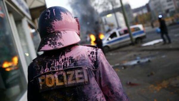 Disturbios en Fráncfort en las protestas contra el BCE (Archive) - Sputnik Mundo