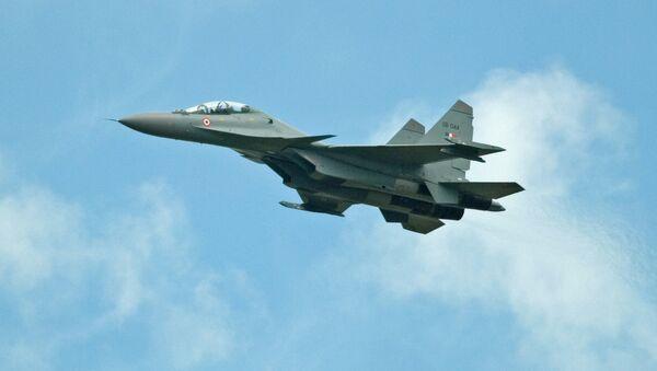 Caza Su-30 de la Fuerza Aérea de la India (archivo) - Sputnik Mundo