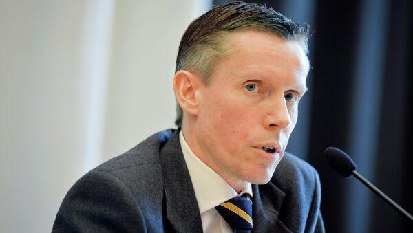 Wilhelm Unge, analista jefe de la Säpo, Servicio de Seguridad Sueco - Sputnik Mundo