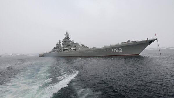 Crucero lanzamisiles Pedro el Grande - Sputnik Mundo
