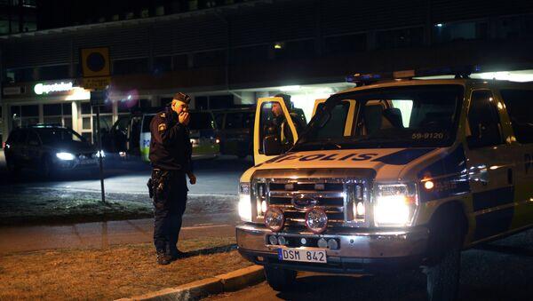 Policía de Suecia - Sputnik Mundo