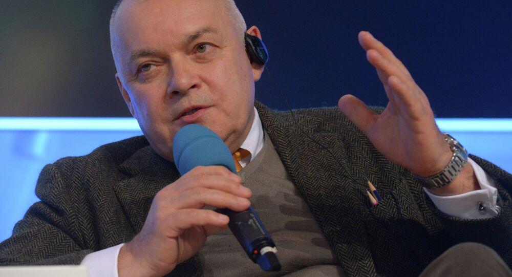Dmitri Kiseliov, director general de Rossiya Segodnya