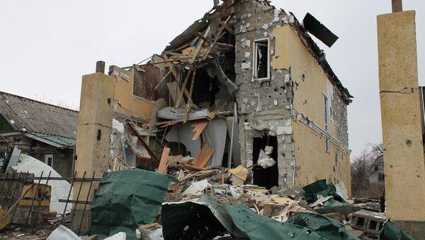 Situación en Donetsk - Sputnik Mundo