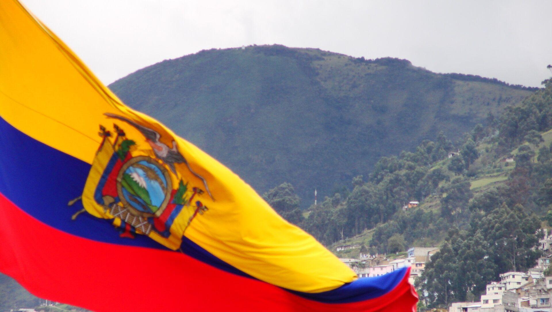 Bandera de Ecuador - Sputnik Mundo, 1920, 05.02.2021