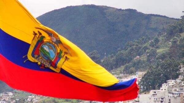 Bandera del Ecuador - Sputnik Mundo