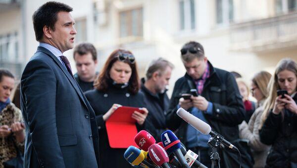 Pavló Klimkin, ministro de Asuntos Exteriores de Ucrania - Sputnik Mundo