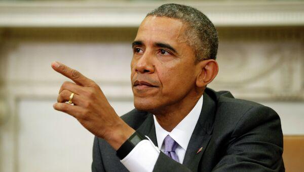 U.S. President Barack Obama talks about Iran - Sputnik Mundo