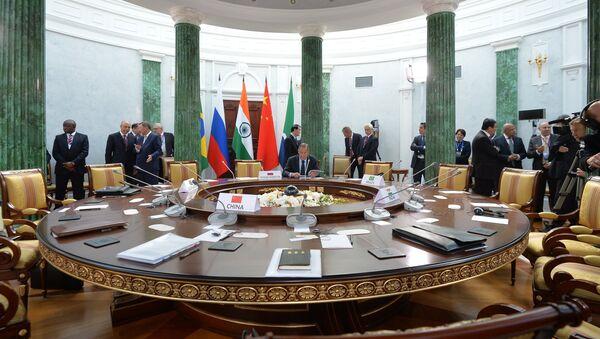 Cumbre de los BRICS - Sputnik Mundo
