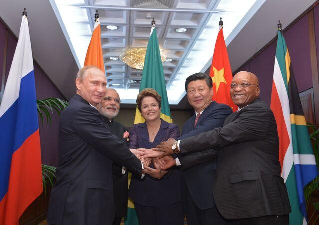 Líderes de los países miembros de BRICS