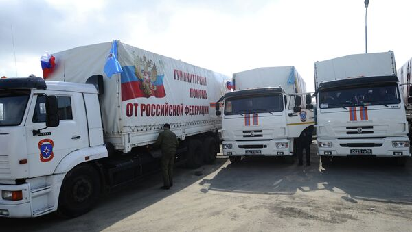 Convoy humanitario ruso - Sputnik Mundo