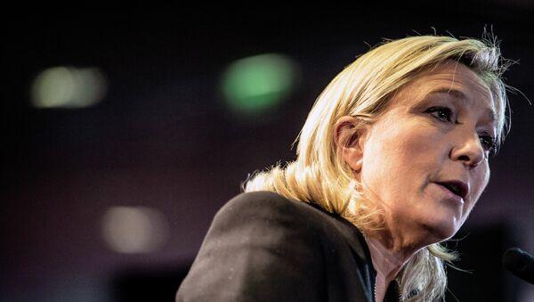 Marine Le Pen, líder del partido francés de extrema derecha Frente Nacional - Sputnik Mundo
