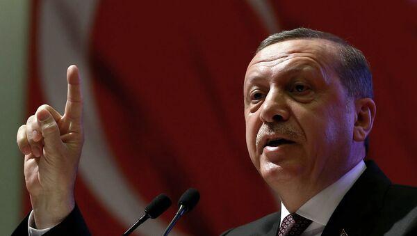Presidente de Turquía, Recep Tayyip Erdogan - Sputnik Mundo