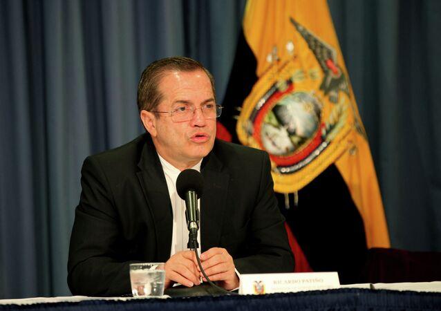 Ricardo Patiño, exministro de Relaciones Exteriores de Ecuador