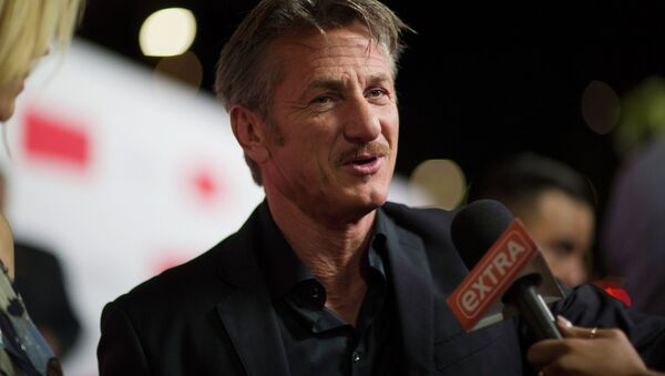 El actor Sean Penn - Sputnik Mundo