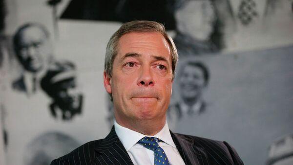 UK Independence Party (UKIP) leader Nigel Farage - Sputnik Mundo