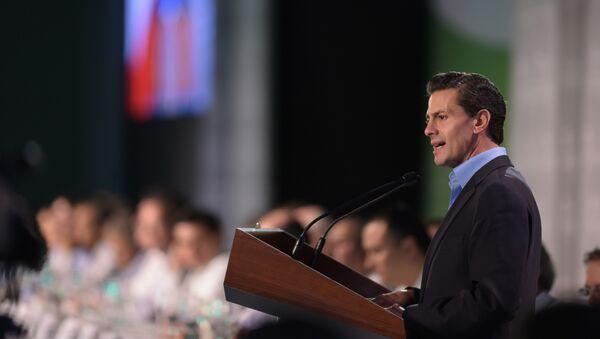 Enrique Peña, presidente de México - Sputnik Mundo