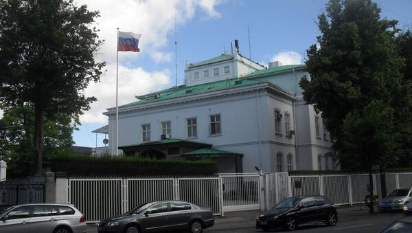 Embajada de Rusia en Dinamarca - Sputnik Mundo