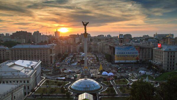 Plaza de la Independencia (Maidán Nezalézhnosti) en Kiev (Archivo) - Sputnik Mundo