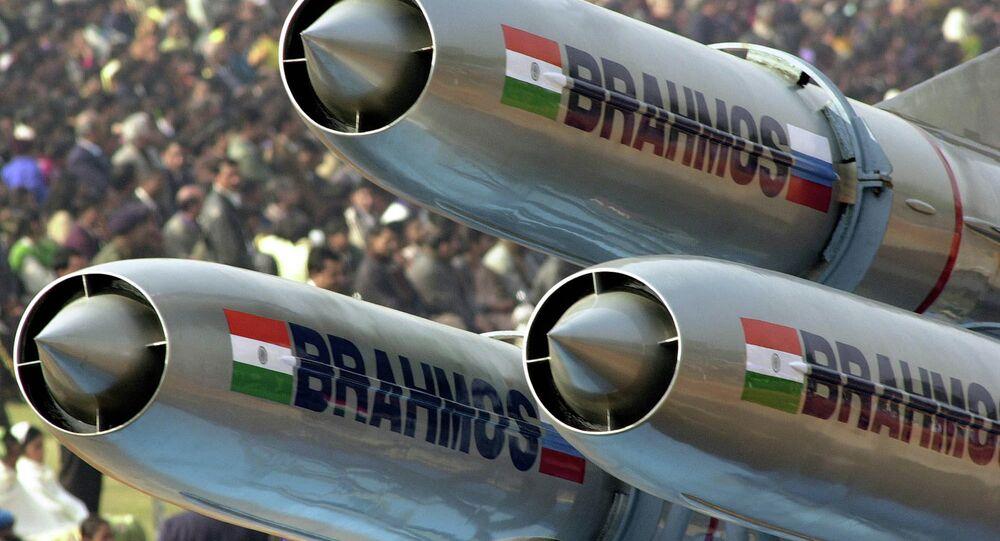 Misiles de crucero supersónico BrahMos (Archivo)