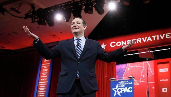 Ted Cruz, senador republicano del estado de Texas - Sputnik Mundo