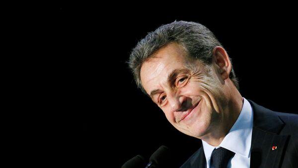 Nicolas Sarkozy, el expresidente de Francia y líder de los Republicanos - Sputnik Mundo