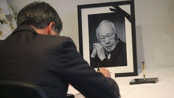 Homenaje a Lee Kuan Yew - Sputnik Mundo