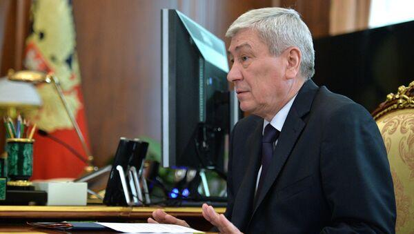 Yuri Chijanchin, director del servicio federal de vigilancia financiera, Rosfinmonitoring - Sputnik Mundo