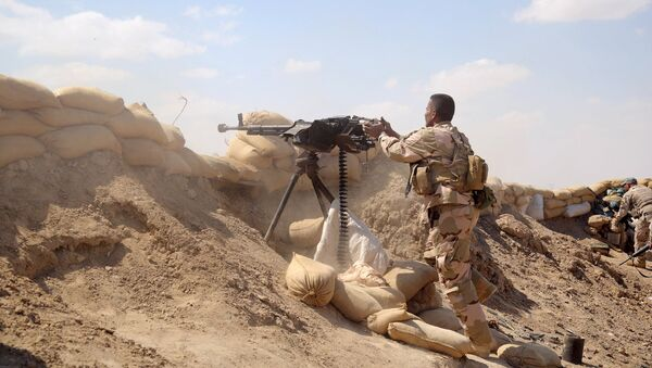 Militares de Irak (archivo) - Sputnik Mundo