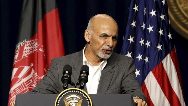 Ashraf Ghani, presidente de Afganistán - Sputnik Mundo