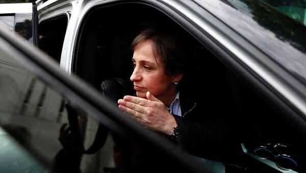 Carmen Aristegui - Sputnik Mundo