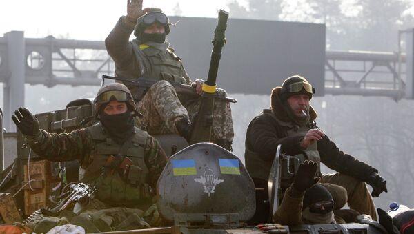 Soldados de ejército de Ucrania - Sputnik Mundo