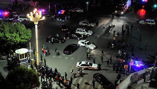 Ataque terrorista en la estación de Kunming - Sputnik Mundo