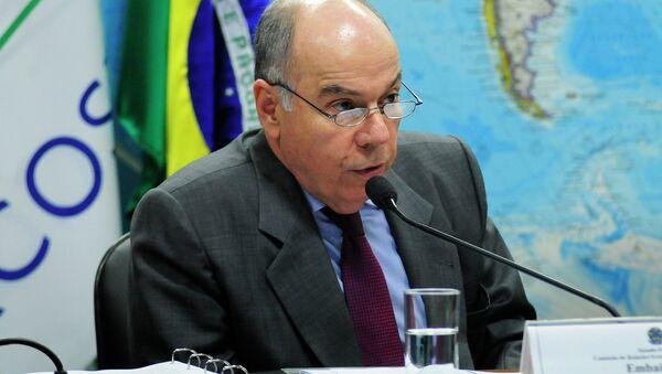 El ministro de Relaciones Exteriores de Brasil, Mauro Vieira - Sputnik Mundo
