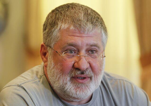 Ígor Kolomoiski, ex gobernador regional de Dnepropetrovsk