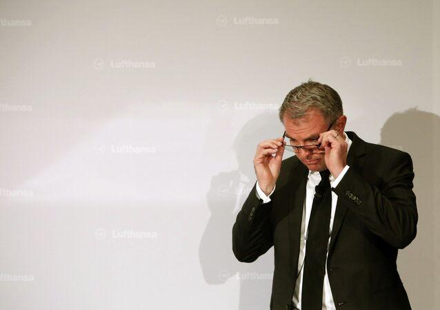 Carsten Spohr, presidente ejecutivo de Lufthansa