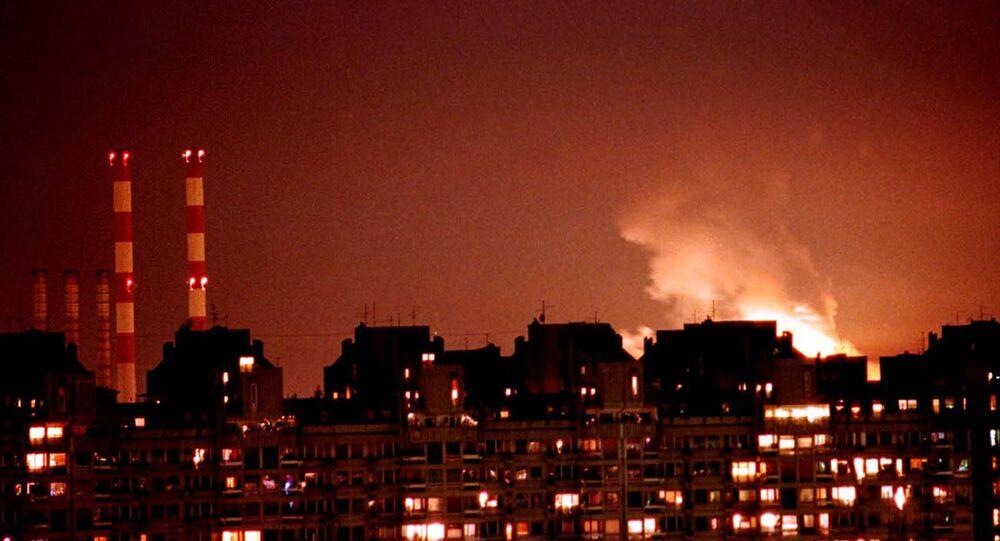 Bombardeo de Belgrado por la OTAN en 1999