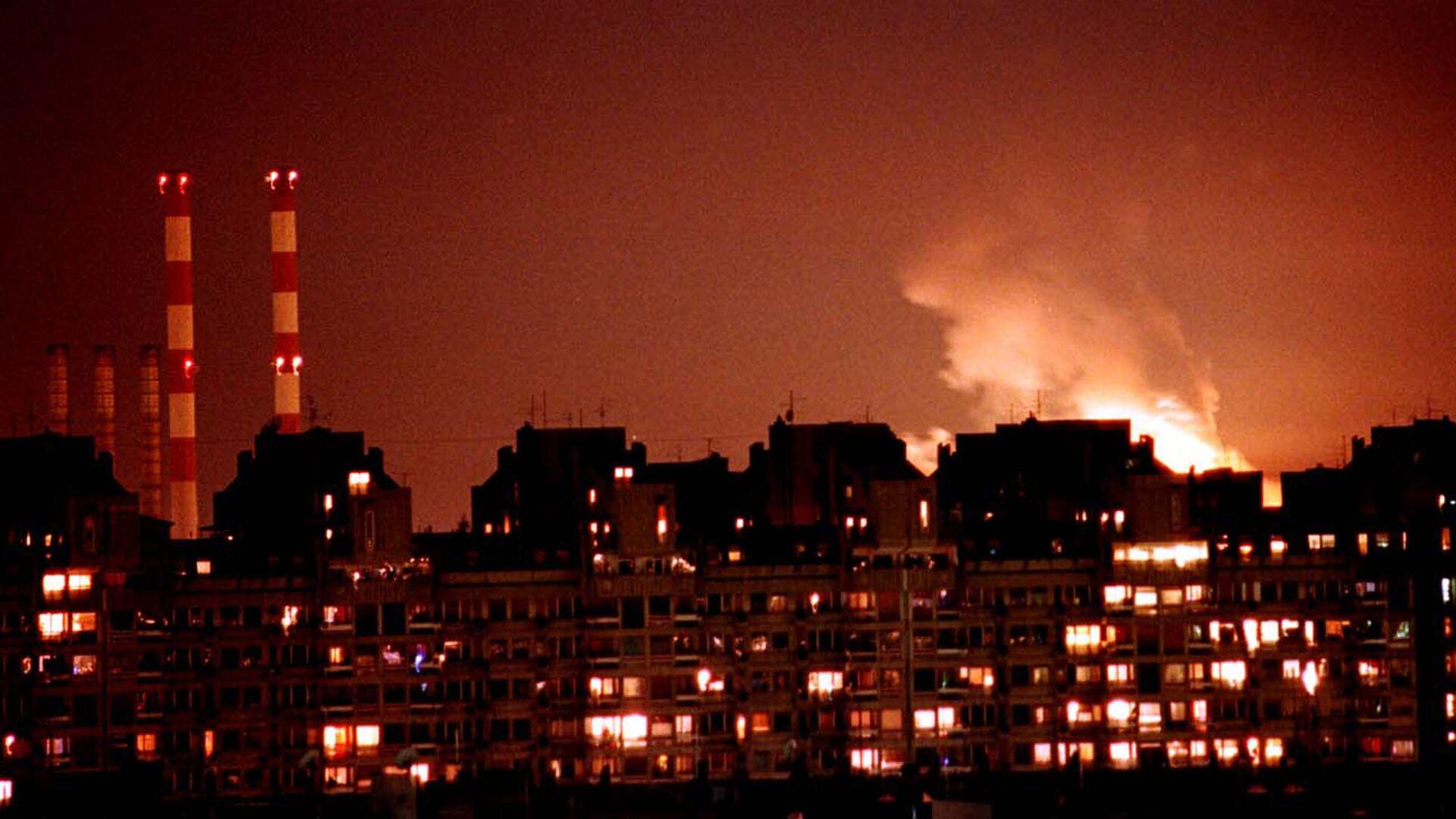 Bombardeo de Belgrado por la OTAN en 1999 - Sputnik Mundo, 1920, 25.03.2021