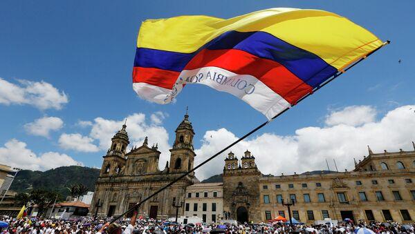 La bandera de Colombia (archivo) - Sputnik Mundo