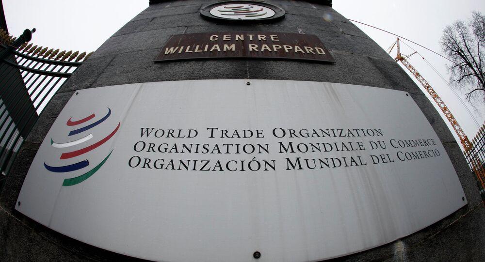 Sede de la OMC en Ginebra, Suiza