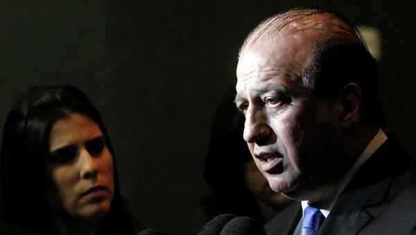 Augusto Nardes, fiscal del Tribunal de Cuentas de la Unión (TCU) de Brasil encargado de supervisar los gastos de dinero público en las obras de los Juegos Olímpicos de Río 2016 - Sputnik Mundo