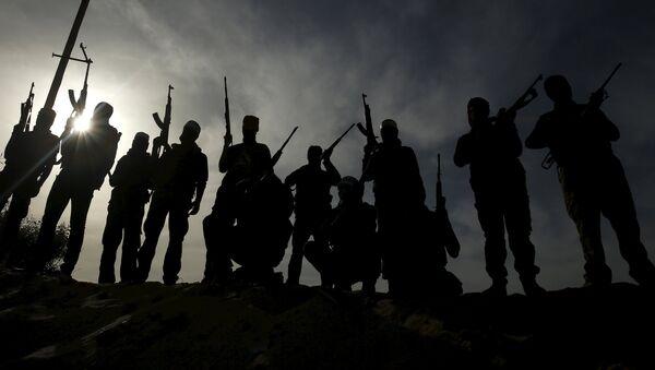 Militantes palestinos - Sputnik Mundo