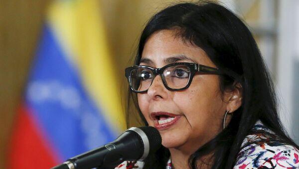 Delcy Rodríguez, ministra de Relaciones Exteriores de Venezuela (archivo) - Sputnik Mundo