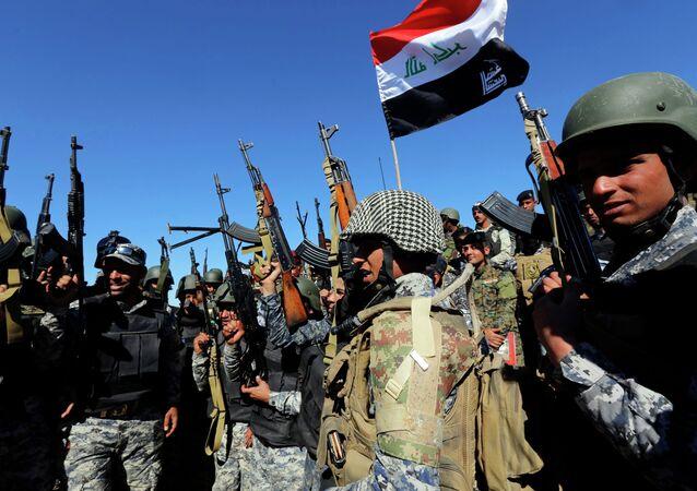 las fuerzas militares de Iraq