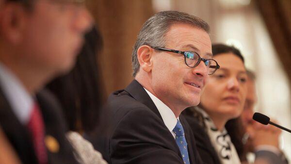 Manuel González, ministro de Exteriores de Costa Rica - Sputnik Mundo