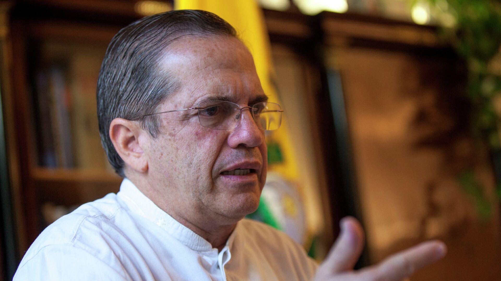 Ricardo Patiño, ex ministro de Relaciones Exteriores de Ecuador - Sputnik Mundo, 1920, 09.04.2021